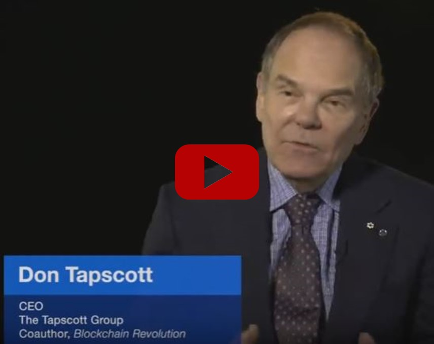 Don Tapscott on Blockchain